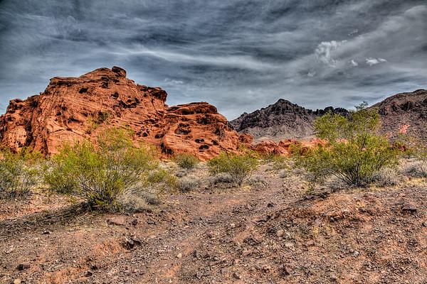 Vegas Desert Red Stones