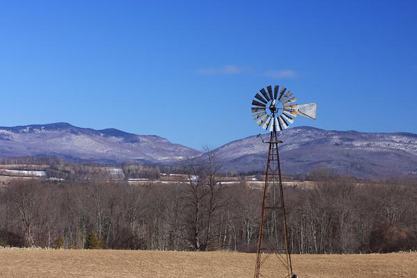 Windmill Near Brandon , VT