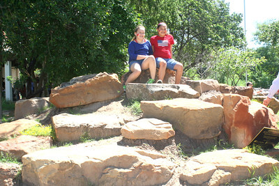 Quinta Mazatlan has constructed a childrens climbing play area. Its called the Boulder Hill, where kids can climb for fun and pose for pictures.