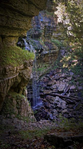 Virgin Falls (dry 2016)