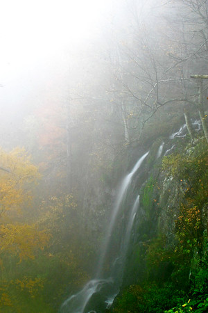 Blue Ridge Parkway Fog