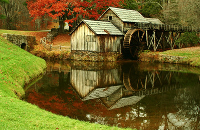 Reflections of Mabry Mill