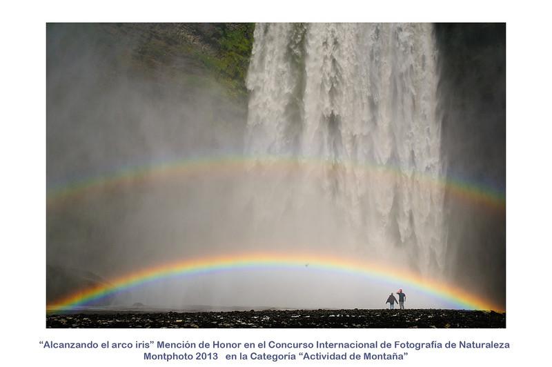 Alcanzando el arco iris