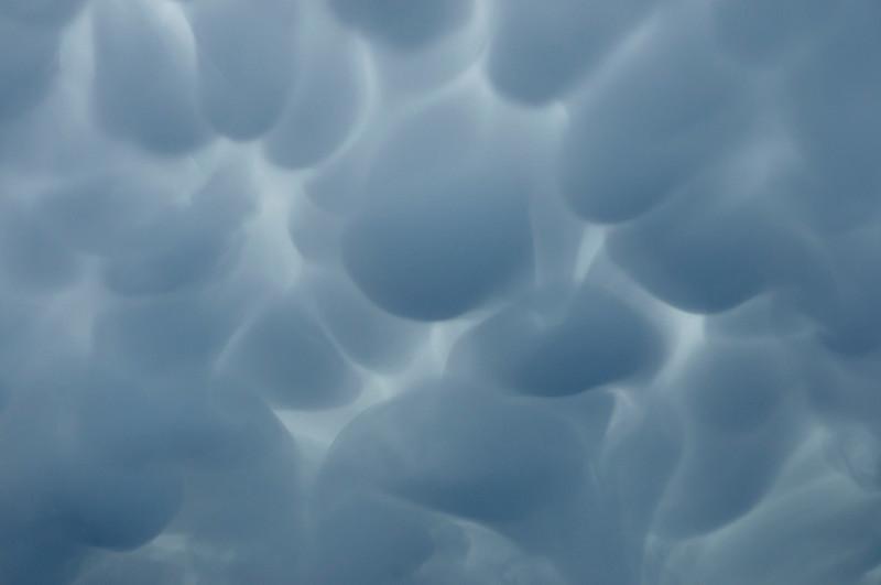 Mammatus clouds/ Nubes mammatus
