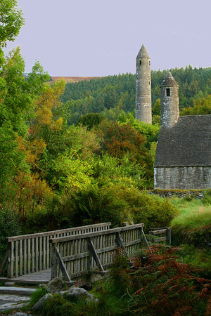 Glendalough just south of Dublin, Ireland