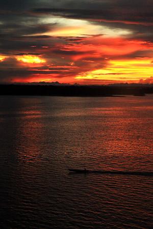 Manaus, Brazil Sunset
