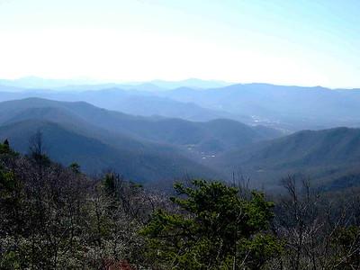 Walker's Knob Hike Dec 2006