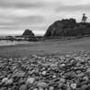 "Pebbles at Rialto Beach near ""Hole In The Wall"""