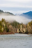 Sauk River in the Mist