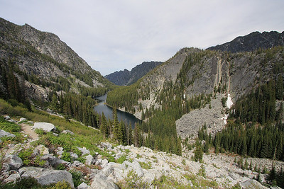 Looking back on Nada lake.