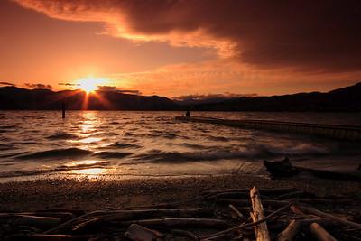 Sunset at Chelan