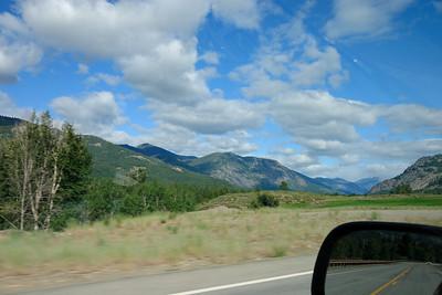 Drive north towards Cascades