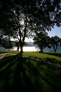 Chelan lake from the city of Chelan...