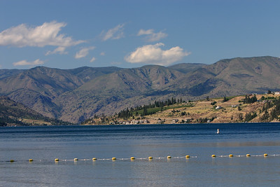 Chelan lake from beach park...