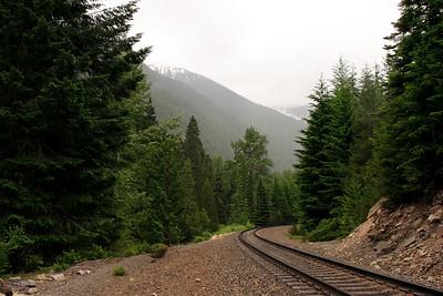 Railway to Steven's Pass