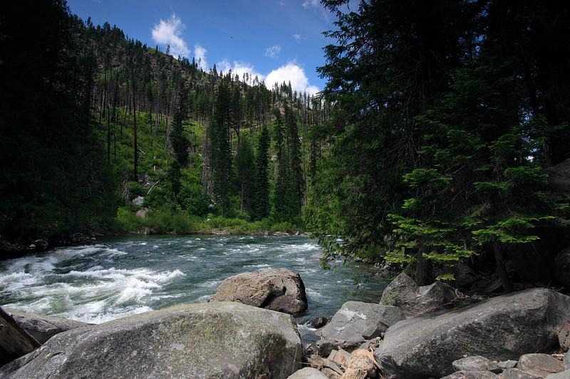 Wenatchee river trail...