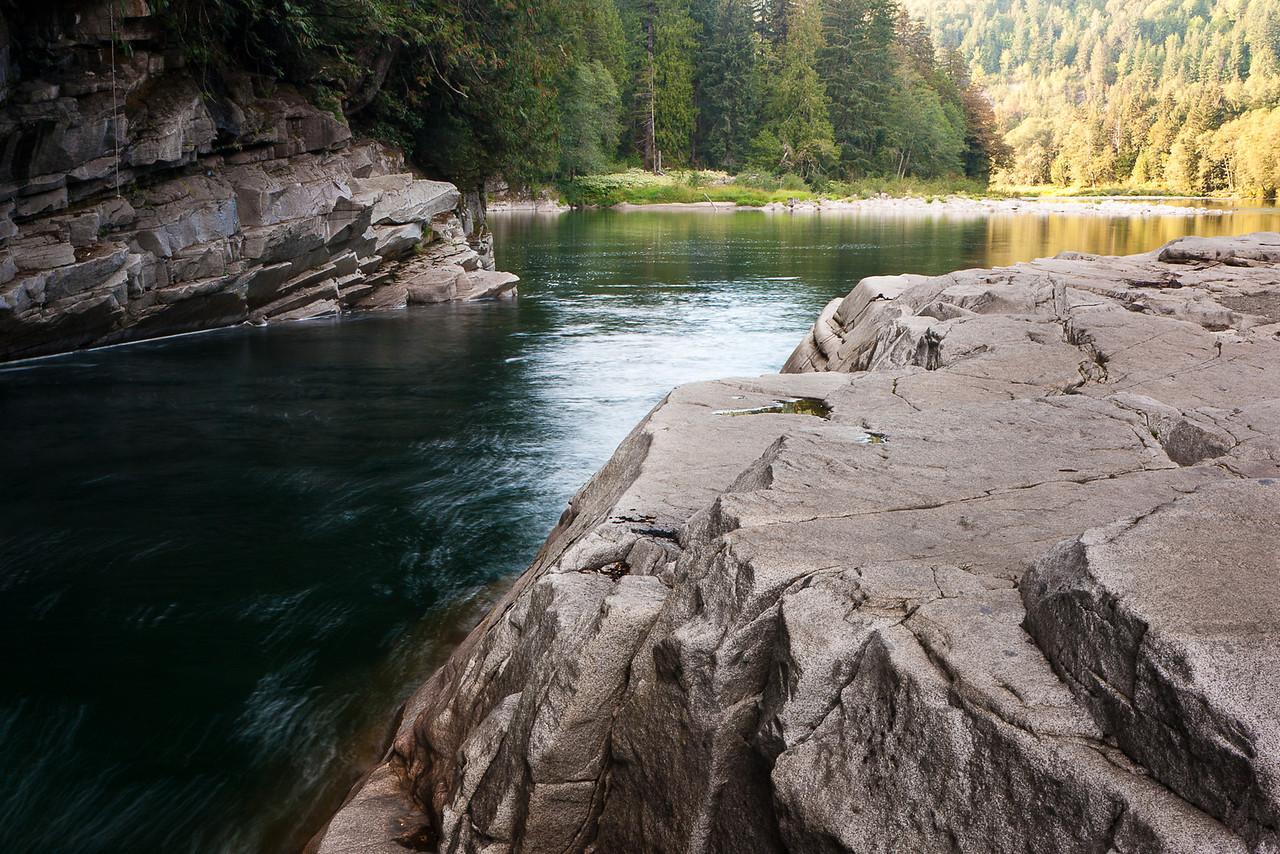 Below Eagle Falls, Skykomish River