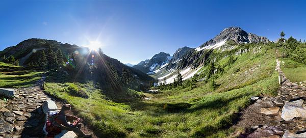 Cascade Pass Pano