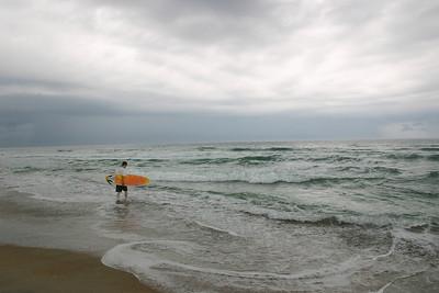 Surfer Boy, Hatteras Island, NC