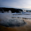 Upper Geyser Basin<br /> Yellowstone National Park, Wyoming, USA