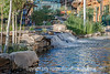 Waterfall at Park Meadows Mall