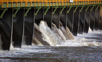 Erie Canal spillway