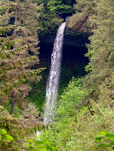 Waterfall, Silver Falls Park, Oregon