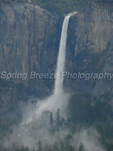 bridal veil falls Yosemite May 2009