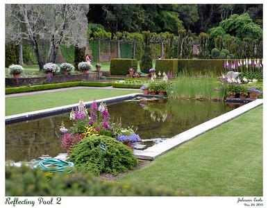 The Reflecting Pool in Filoli's Sunken Garden.  Filoli, 26 May 2011.