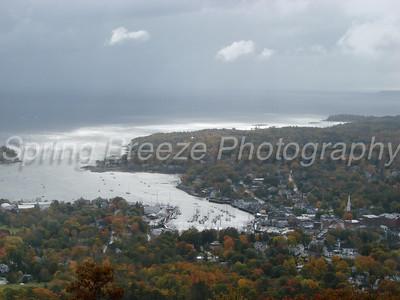 Mount Battie - Camden Maine Oct 2010