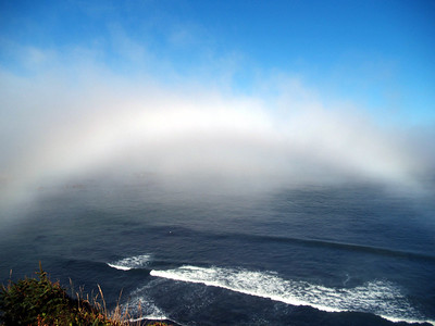 "Oregon coast ""Fog Bow"""