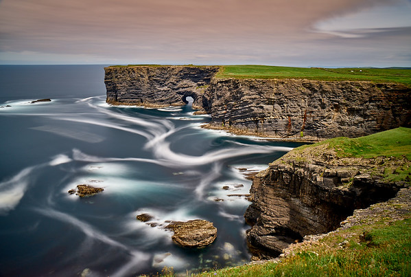 Cliffs of Kilkee, County Clare, Ireland