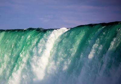 Below Niagara's rim