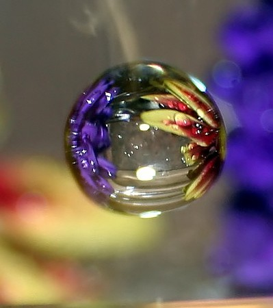 Floral Crystal Ball I