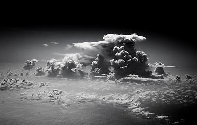 Variety of clouds -- Java Sea