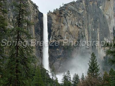 Bridal Veil Yosemite May 2009