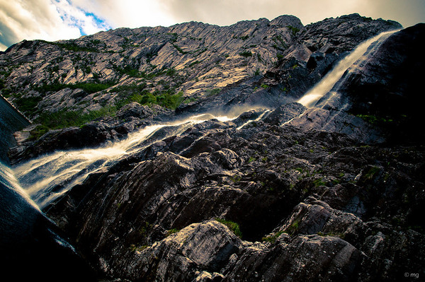 Waterfall at Lysefjord (Norway)
