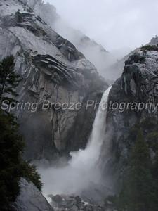 Yosemite falls lower Yosemite May 2009