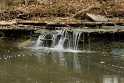 Crawdad Falls, Caesar Creek, Ohio