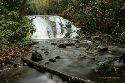Indian Creek Falls, Deep Creek area, NC
