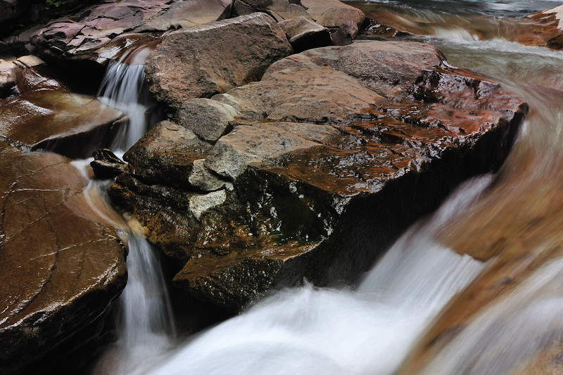 Clear Creek, north of Silverton CO, September 2011.
