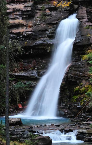 Southwestern Colorado waterfall near Silverton Colorado.
