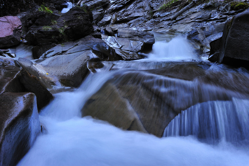Up close and personal with a creek near Silverton Colorado.