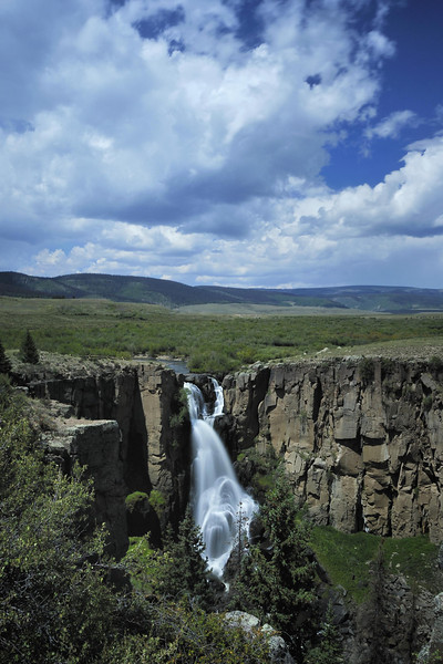 North Clear Creek Falls, Colorado, between Creede and Lake City.