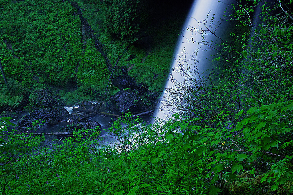 Base of the North Falls,Sliver Falls State Park, Oregon