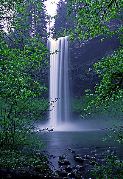 South Falls, Silver Falls State Park, Oregon