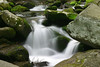 Photo taken 05-13-2005.  Stream near Grotto Falls, Roaring Fork Motor Trail, near Gatlinburg, Tennessee.
