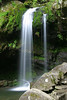 Photo taken 05-13-2005.  Grotto Falls, Roaring Fork Motor Trail, near Gatlinburg, Tennessee.