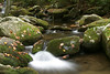 Photo taken 10-22-2005.  Stream on Little River Road in the Great Smoky Mountains National Park, Tennessee.