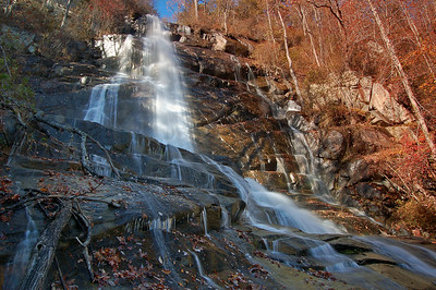 Falls Creek Falls, Mountain Gap Wilderness, South Carolina
